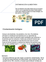 Tipos de Contaminación Alimentaria
