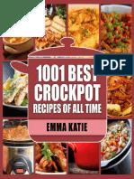 Crock Pot 1001 Best Crock Pot Recipes of All Time
