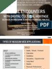 Costis Dallas (2015) Social Encounters With Digital Cultural Heritage
