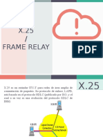 x25 - Frame Relay