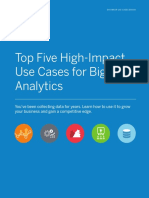 eBook Top Five High Impact UseCases for Big Data Analytics