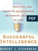 How Practical and Creative Inteligence Determine Success in Life