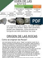 Exposicion Damián Geología