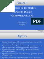 Marketing y Communicacion S4 MAR 1011S 2011