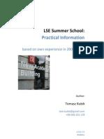 LSE Summer School - Practical Information