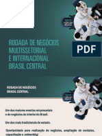 Rodada de Negócios Brasil Central 2013
