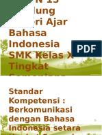 Materi Ajar Online Bahasa Indonesia X.pptx