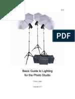 Studio Lighting Guide