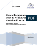 Student Engagement in T&L