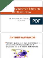 Antihistamínicos y AINES en Oftalmología