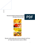 Estudio de Mercado CJ Para Frutas Frescas