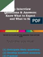 Job interview.ppt