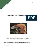 Teorias de La Evolucion