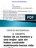 Union No Matrimonial