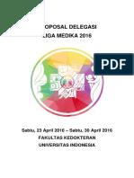 Proposal Delegasi Liga Medika 2016