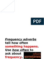b3 Frequency Adverbs