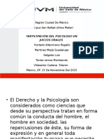 Participacion Del Psicologo en Juicios Orales