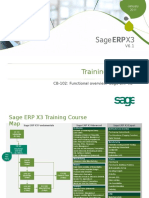 CB102 Sage ERP X3 V6 Functional Overview v1.1.3 Slides