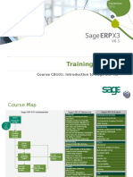 Sage ERP X3 - CB101 - Introduction v1.1.0 Slides