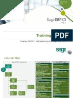 Sage ERP X3 - CB101 - Introduction v1.1.0 Slides