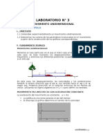 LAB N° 3 - MOVIMIENTO UNIDIMENSIONAL (1)