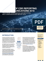 State of CSR Reporting & Communications 2016