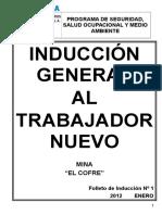 01 Inducción General Trabajador Nuevo 2012