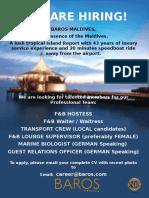 0924 Job Vacancy - Baros