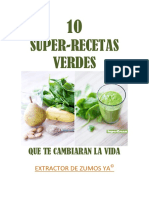 10 Super-recetas Verdes