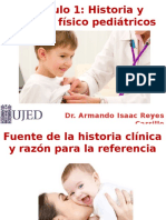 historia clinica pediatrica