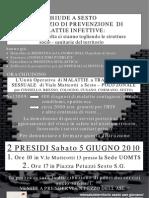 CHIUDE A SESTO UN SERVIZIO DI  PREVENZIONE DI MALATTIE INFETTIVE