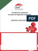 Sabores Peruanos Preguntas
