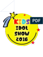 Kid Idol Show 2016 -Competition Info & Entry Form
