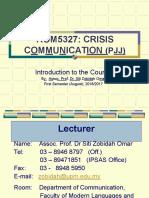 F2F Pertama - Introduction & Assignments KOM5327