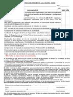 Checklist Transferência de Armamento Entre SINARM e SIGMA Atualizado Em 28-09-2015