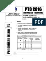 Percubaan Pt3 2016 Kedah Pai