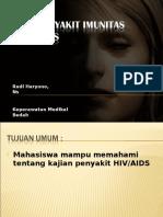 Kajian Penyakit Imunitas HIV AIDS
