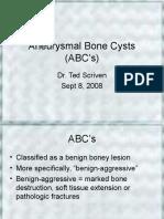 Aneurysmal Bone Cysts