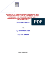 Informe Estudio Del Shotcrete - Estallido de Rocasenero 2007