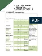 Descripcion - 12 Aulas Achica Arriba