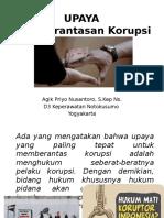 Upaya Anti Korupsi Sem 3