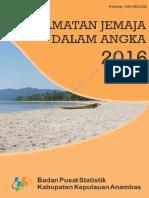 Kecamatan Jemaja Dalam Angka 2016