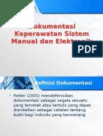 Dokumentasi Keperawatan Sistem Manual Dan Elektronik