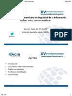 V Encuesta latinoamericana de seguridad de la información. Informe 2014