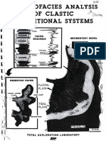 Electrofacies Analysis of Clastic Depostional Systems