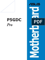 Manual Asus p5gdc Pro