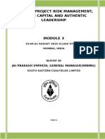 Advanced Project Risk Mgt_Human Capital_Report _Final