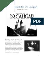 Das Cabinet Des Dr. Caligari Film Review