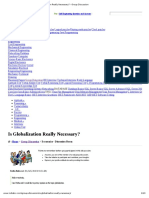 Is Globalization Really Necessary_ - Group Discussion