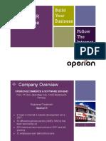 Operion PR Program Intro